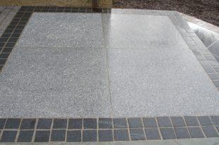 Silver Granite Paving 1000x1000
