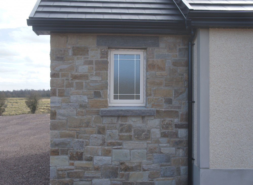 Rock Faced Limestone Cill & Lintel