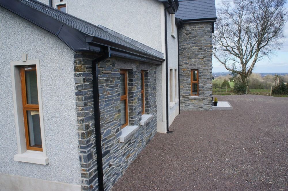 Donegal Slate Stone built on front face