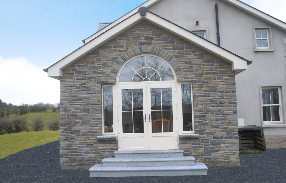 50% Portlaoise and 50% Liscannor Stone Mix