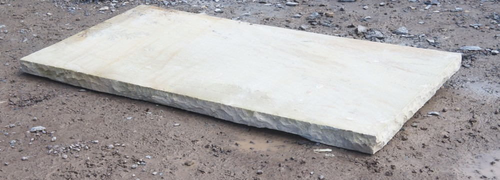 Tinted Mint Sandstone Hearth 60mm