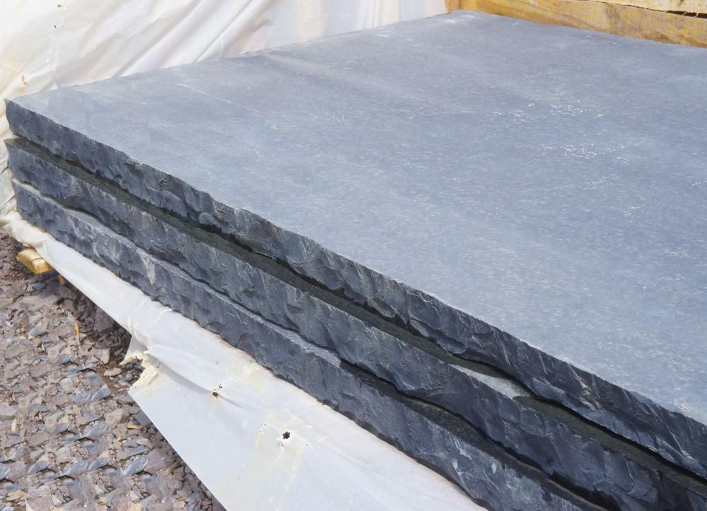 Black Limestone Hearth 60mm