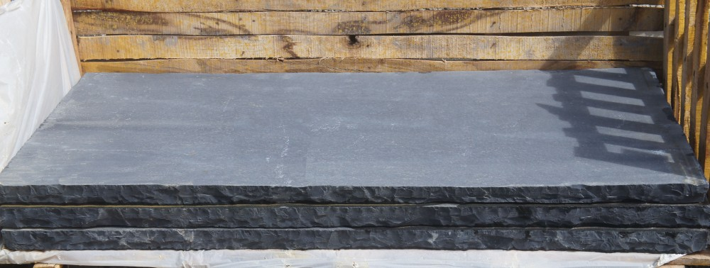 Black Limestone Hearth 60mm
