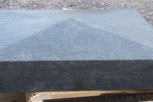 Blue Granite Pier Cap Wet