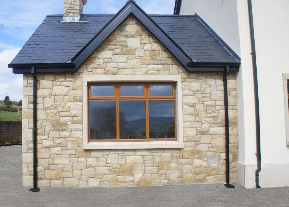 Donegal sandstone surround on window