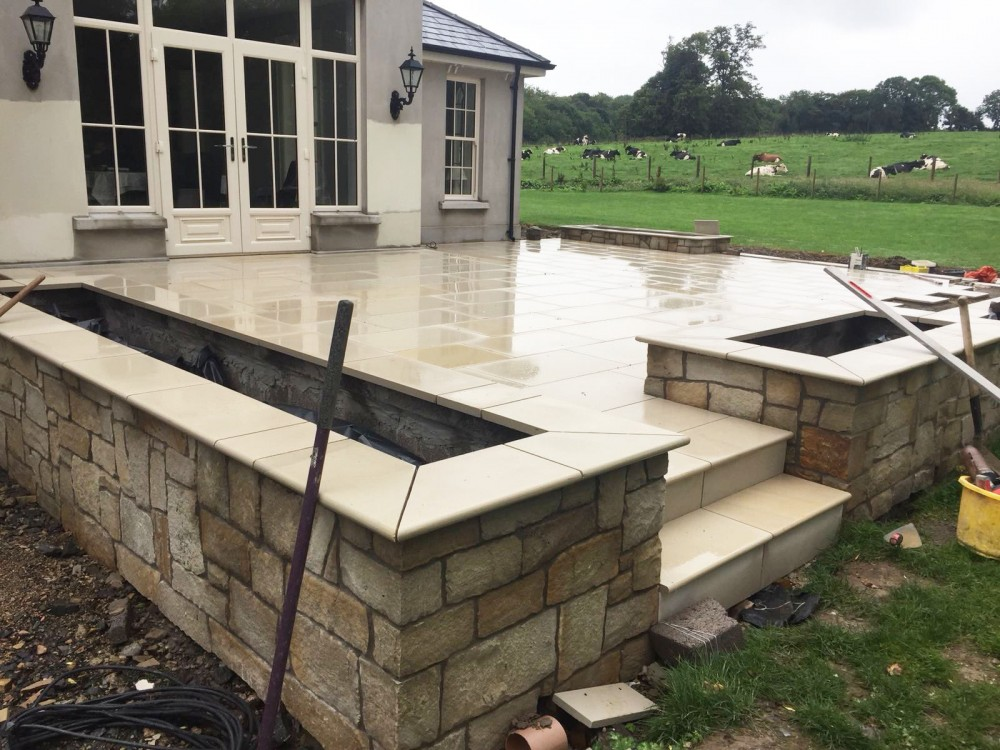 30mm CooleClad Donegal Sandstone Corners