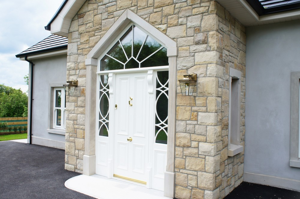 Donegal sandstone apex door surround