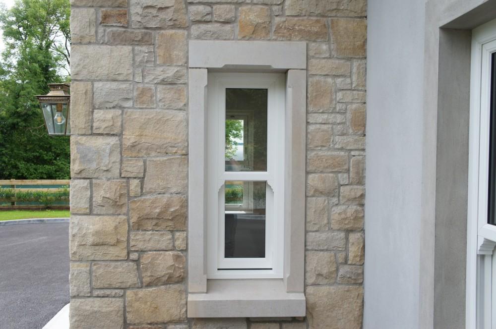 Donegal sandstone window surround